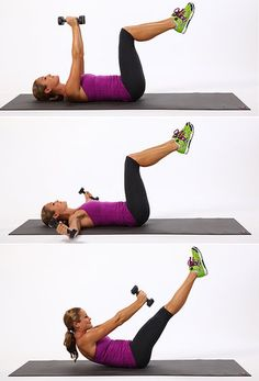 Dumbell Abs - Do These!