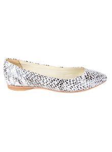 Cheetah Pointed Toe Ballet Flats