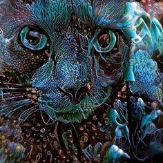 📺+🔊🎶✨😸🎸✨ Fishtank Freakout! #electriccatnip . . . . . #latenight #deepdream #catnip #psicodelia #blackcat #videoarte #hallucinations #psychedeliccat #surrealismartcommunity #psychedelicart #acid #videoart #dreamscope #cateyes #plotagraph #psyart #luciddreaming #surreal42 #artlife #trippyvideos #abstractors_anonymous #fa_hypnotic #abstracto #blackcatsofinstagram