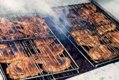 These building a barbecue pit pictures will show you the steps for constructing a barbecue pit. Check out this building a barbecue pit image gallery. Grilled Chicken Leg Quarters, Grilled Chicken Legs, Smoked Chicken, Grilled Chicken Recipes, Grilled Meat, Cancer Causing Foods, Barbecue Pit, Canned Meat, Grass Fed Beef