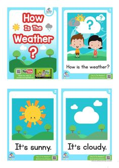 How Is The Weather? ESL Flashcard Set - Weather and Feelings Vocabulary worksheet - Free ESL printable worksheets made by teachers Seasons Worksheets, Weather Worksheets, Weather Activities, 1st Grade Worksheets, Preschool Learning Activities, Weather Crafts, Printable Worksheets, Fun Activities, Learning English For Kids