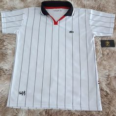 Camisa Lacoste, Bae, Cool Outfits, Polo Shirt, Pasta, Girls, Mens Tops, Closet, Accessories