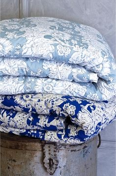 Cottage Charm ~ blue and white