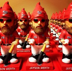 Jayson Werth Gnome Giveaway Has Nationals Fans Excited Nationals Baseball, Washington Nationals, Best Games, Gnomes, Ronald Mcdonald, Giveaway, Superhero, Tuesday, Fans