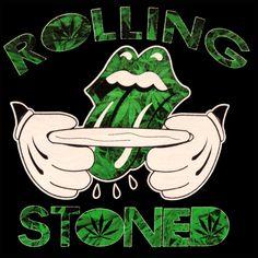 Rolling Stoned Cartoon Adult Hoodie☮