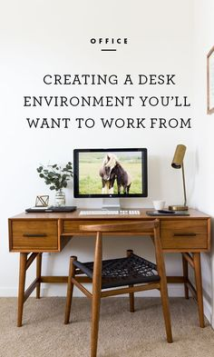 Though most office workers require little more than a computer desk and chair to adequately perform their jobs, having a workspace that is comfortable and pleasant can improve focus, productivity, and efficiency. /