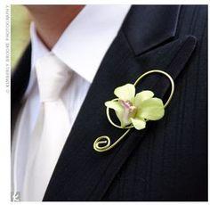 Floristry - Orchid Buttonhole