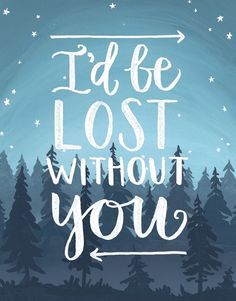 Send this to the one you love. See more here: https://www.postable.com/card/lost-without-you