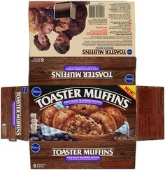 Pillsbury - Toaster Muffins - Wild Maine Blueberry Muffins - 1986 by JasonLiebig, via Flickr