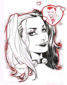Harley Quinn - Art Thibert