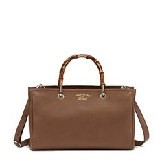 ad43404ccd3 Bamboo Shopper Leather Tote Gucci Handbag · Mbox · Online Store Powered by  Storenvy