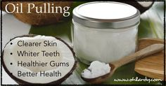 Learn more about the history of oil pulling, the health benefits and how to do coconut oil pulling.