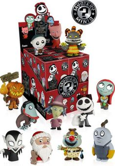 Tim Burton's hit animated film The Nightmare Before Christmas gets a second series of stylized vinyl figures! The Nightmare Before Christmas Mystery Minis Series 2...