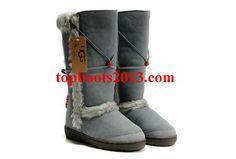 UGGs Wholesale Nightfall 5359 Tall Grey Boots Sheepskin