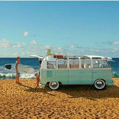 43 Best VW Camper Westfalia Ideas to Inspire You Volkswagen Bus, Vw Camper, Camper Life, Volkswagen Models, Vw Beach, Beach Fun, My Dream Car, Dream Cars, T1 Samba