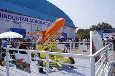 Lakshya - the Pilotless Target Aircraft developed by HAL and DRDO.