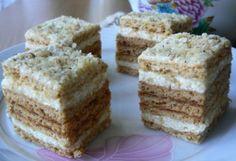 Mézes krémes Tésztásfül konyhájából | NOSALTY – receptek képekkel Krispie Treats, Rice Krispies, Desserts, Food, Pastries, Tailgate Desserts, Deserts, Eten, Tarts