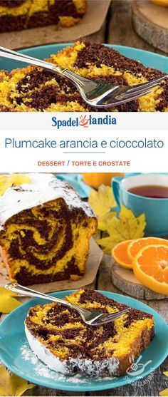 "Plumcake arancia e cioccolato ""Italy food culture Italian cuisine, one of th – Vorspeisen Mit Meeresfruchten Italian Pastries, Italian Desserts, Italian Recipes, Italian Biscuits, Types Of Sandwiches, Italy Food, Plum Cake, Chocolate Recipes, Chocolate Pastry"