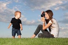 What mom doesn't melt looking at a beautiful photograph of her child? Unfortunately, capturing sweet moments and the real personality of a jumping bean isn't easy! To help, we're sharing tips and tricks on photographing kids, all shared by expert