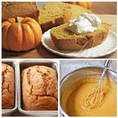 Moist and Fluffy Pumpkin Bread