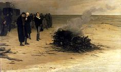 Percy Bysshe Shelley, the Romantic poet, drowned in 1822. His yacht was wrecked in a storm in the Gulf of Spezzia, Italy. His body was cremated and his remains later buried at the Protestant cemetery in Rome.