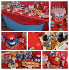 "Photo 1 of 14: Elmo & Cookie Monster / Birthday ""Elmo & Cookie Monster"" 