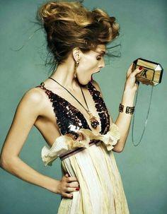 Malgosia Bela by Greg Kadel for Vogue Spain - July 2011 (lik-usya's edit; COLOR Series JAN 2013)