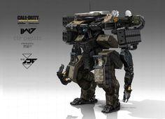 Call of duty infinity warfare C-12 main battle mech