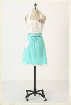 Anthropologie Apron knock off - 32 Brilliant DIY Anthropologie Knockoffs