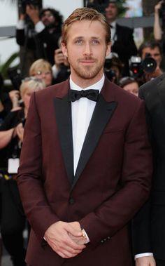 Stylish and fashionable peak lapel collar burgundy tuxedo for men.