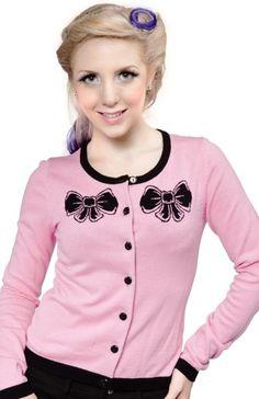 cardigan damen rosa wasserfall lang bluse oberteil top. Black Bedroom Furniture Sets. Home Design Ideas