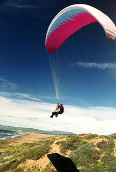Learn to paraglide by taking a lesson at through Xtreme Big Air