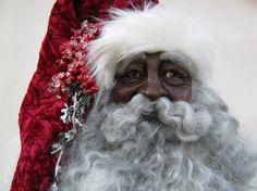 Traditional Black Santa by oldworldstnicks on Etsy, $299.00