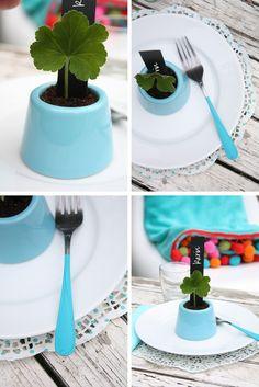 spring planter table idea