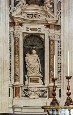 Basilica di San Siro, Genova, Italy - 1585-1619 Arch. Andrea Ceresola | photo by Jacqueline Poggi on Flickr - Photo Sharing!
