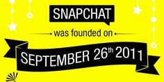 Its Time To Say Happy Birth Day To SnapChat As It Was Founded On September 26th 2011 And Now Its September 26th 2014 So Let Us Celebrate Its Third Birthday By Seeing His Progress Timeline In Infograph.  Article: www.exeideas.com/2014/09/happy-3rd-birthday-snapchat.html Tags: #Infograph #SnapChat #Apps #SmartPhoneApps #Infographic #SnapChatInfograph #MobileApps