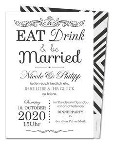 Hochzeitseinladungen gestalten