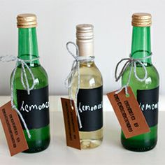 A simple recipe for limoncello and tips on how to present it beautifully.