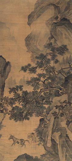 Ma Yuan(馬遠) , 山水人物