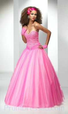 Buy adorable Long Prom Dresses at KissyDress online. Pick up this unique Tulle Princess Ball Gown Sweetheart Long Prom Dress at Prom Dresses Under 100, Pink Formal Dresses, Plus Size Prom Dresses, Cheap Prom Dresses, Trendy Dresses, Strapless Dress Formal, Formal Gowns, Princess Prom Dresses, Princess Ball Gowns