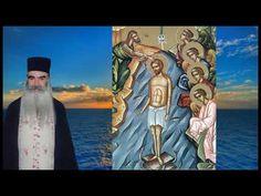 Δεν θα γίνει αγιασμός υδάτων σε δημόσιο χώρο. πατήρ Σάββας γιατί βαπτίστηκε ο Χριστός στο νερό; - YouTube