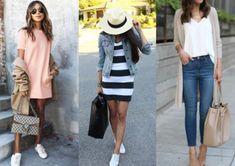 Διανύουμε την περίοδο της πανέμορφης άνοιξης όπου η μόδα είναι όλο χρώμα και ομορφιά. Για casual ανοιξιάτικο ντύσιμο δες εδώ! Fashion Moda, Panama Hat, Casual, Outfits, Suits, Kleding, Outfit, Outfit Posts, Clothes