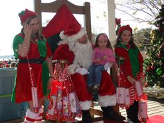 Annual Christmas in the Park event; First Saturday each December.