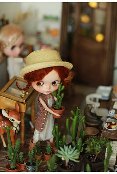 Miss yo 2016 Summer & Autumn - Hollow Pattern Sweater Vest for Blythe doll - dress / outfit - Brown