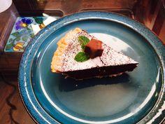 Death by chocolate tart