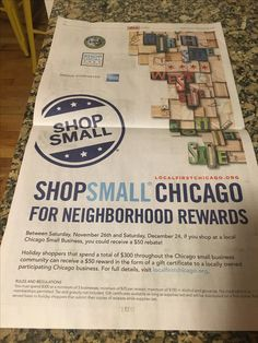 2016 citywide holiday shopping campaign to support our local businesses. #ShopSmall