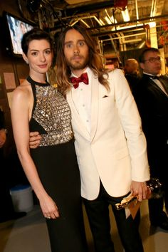 Anne Hathaway - 86th Annual Academy Awards - Backstage