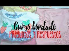 CURSO BORDADO CON MAQUINA DE COSER. | CLASE 10 PREGUNTAS Y RESPUESTAS. - YouTube