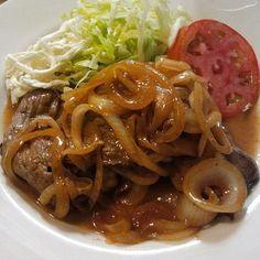 Steak and onion.....El Boricua - Food Blog by Ivonne Figueroa