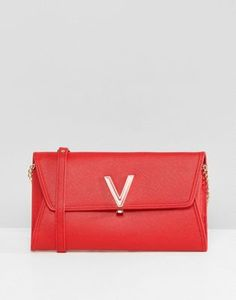 Valentino by Mario Valentino - Pochette à rabat - Rouge